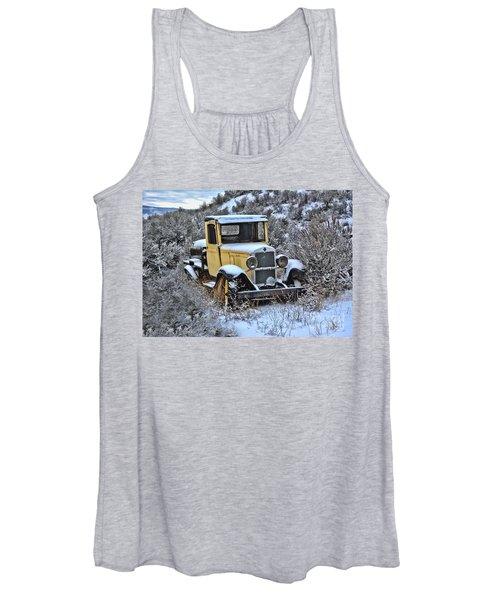 Old Yellow Truck Women's Tank Top