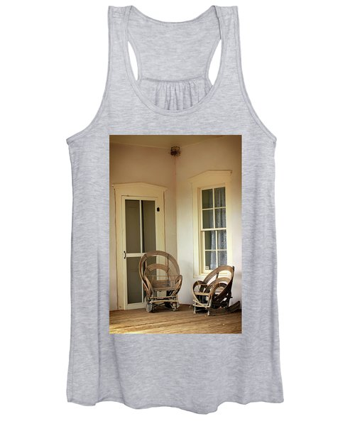 On Doc Woods' Porch Women's Tank Top