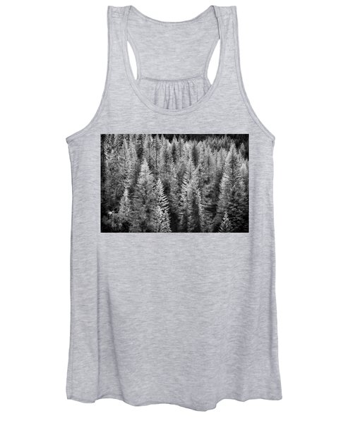 One Of Many Alp Trees Women's Tank Top