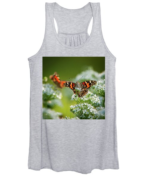 Painted Ladies Women's Tank Top