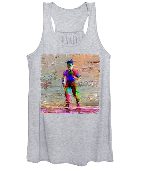 Painted Man Women's Tank Top