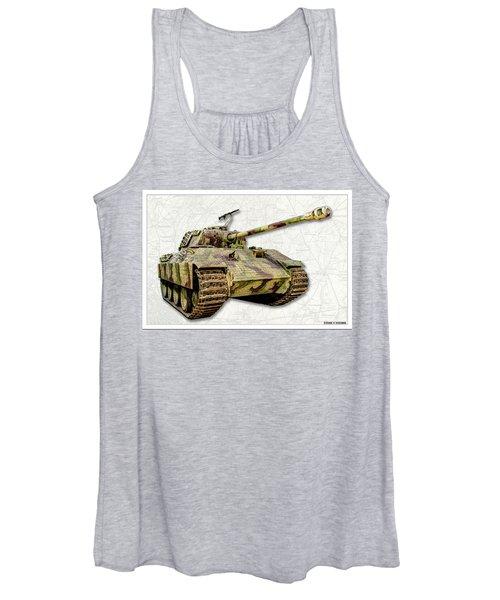 Panzer V Panther Women's Tank Top