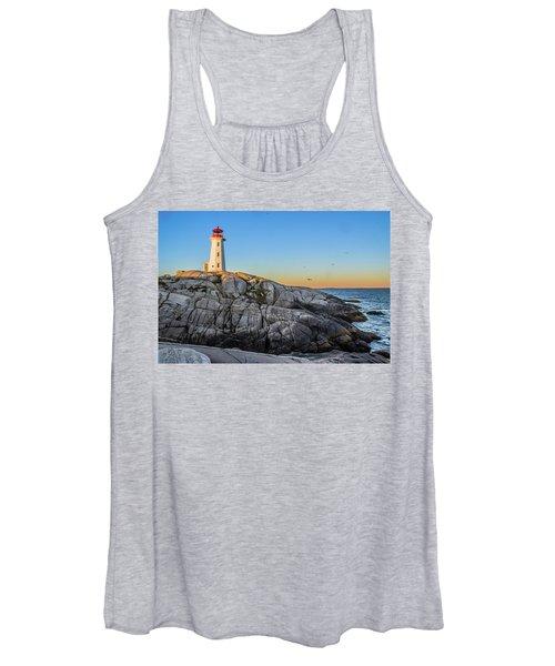 Peggys Cove Lighthouse Women's Tank Top