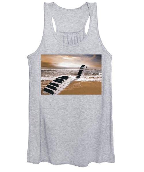 Piano Fantasy Women's Tank Top