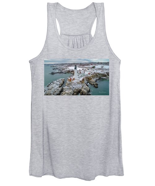 Picturesque Maine  Women's Tank Top
