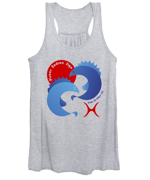 Pisces - Fishes Women's Tank Top