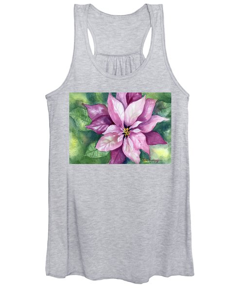 Poinsettia Women's Tank Top