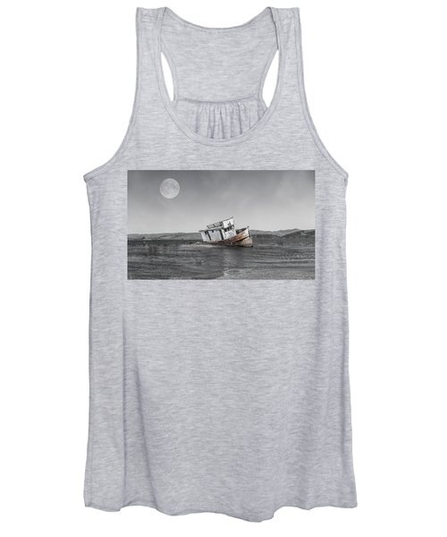 Point Reyes California Shipwreck Women's Tank Top