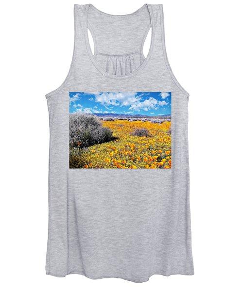 Poppy Patch - California Women's Tank Top