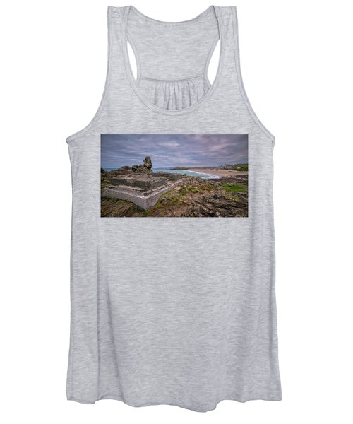 Porthmeor Beach January View Women's Tank Top