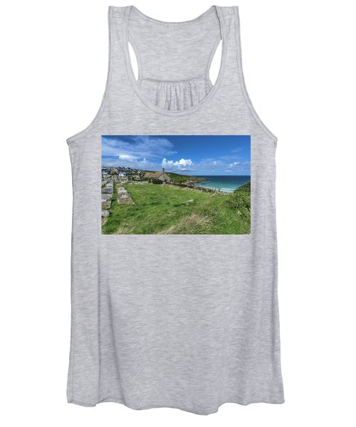 Porthmeor From Barnoon - St Ives Cornwall Women's Tank Top