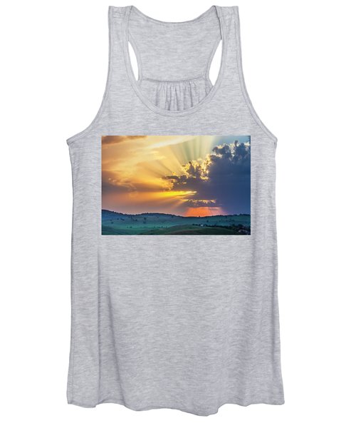 Powerful Sunbeams Women's Tank Top
