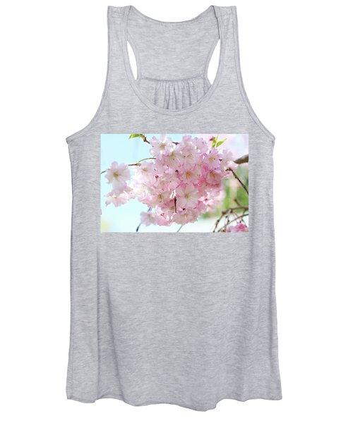 Pretty Pink Blossoms Women's Tank Top