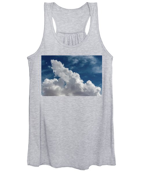 Puffy White Clouds Women's Tank Top