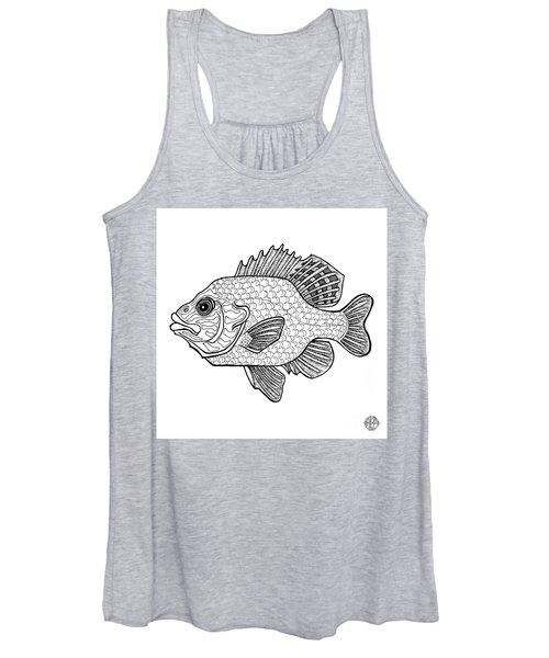 Pumpkinseed Fish Women's Tank Top