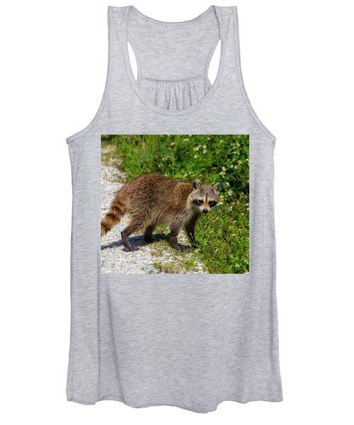 Raccoon Women's Tank Top