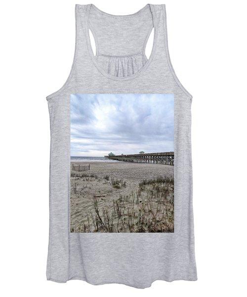 Rainy Beach Day Women's Tank Top