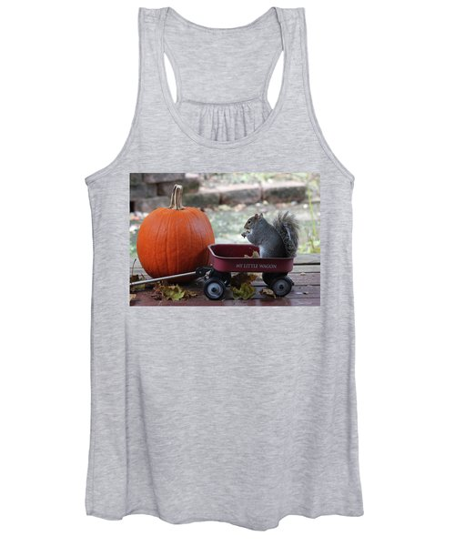 Ready To Ride My Little Red Wagon Women's Tank Top