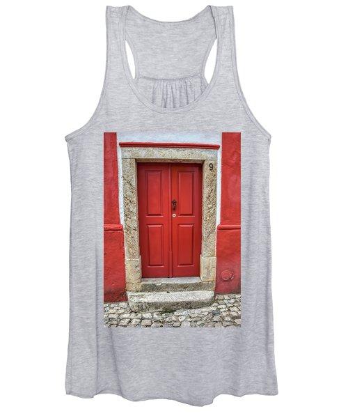Red Door Nine Of Obidos Women's Tank Top