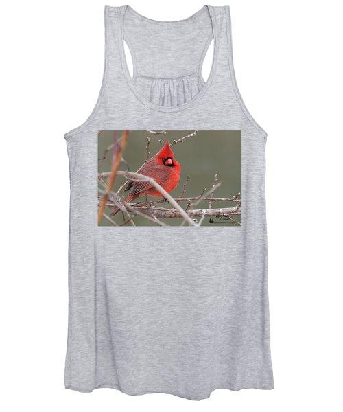 Red In Winter Women's Tank Top
