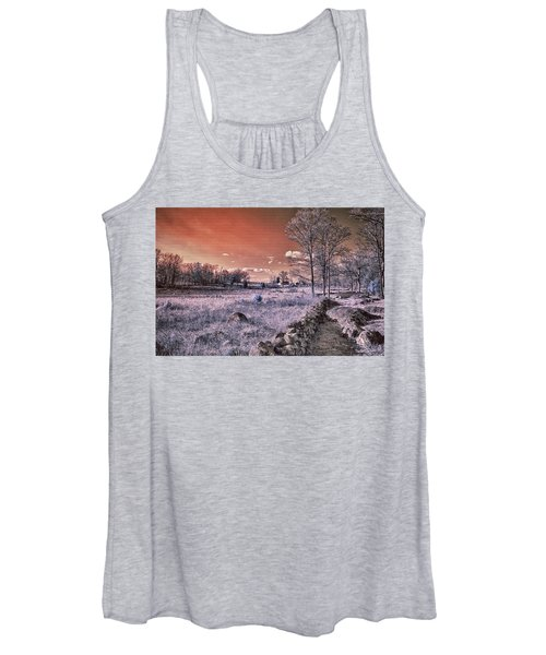 Red Sky At Night Women's Tank Top