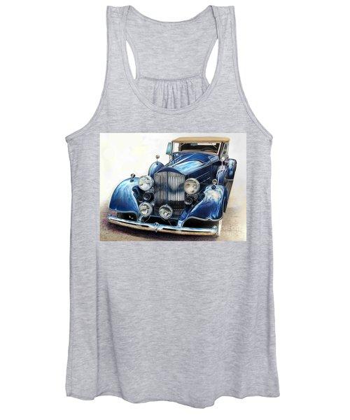 Reflection On Blue Women's Tank Top