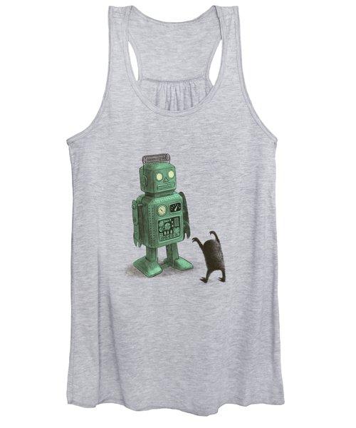 Robot Vs Alien Women's Tank Top