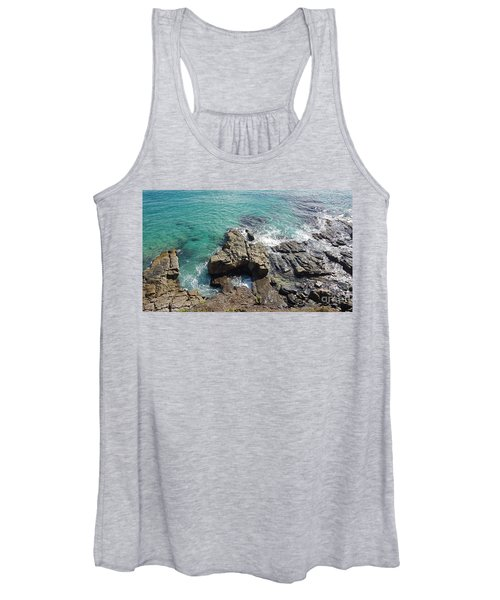 Rocks And Water Women's Tank Top