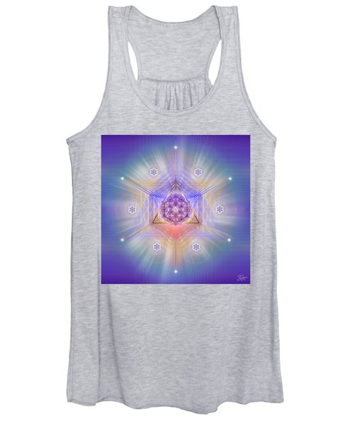 Sacred Geometry 734 Women's Tank Top