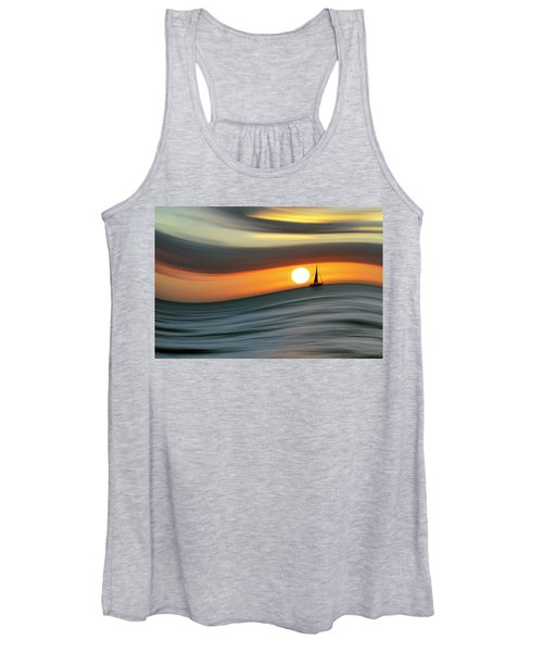 Sailing To The Sunset Women's Tank Top