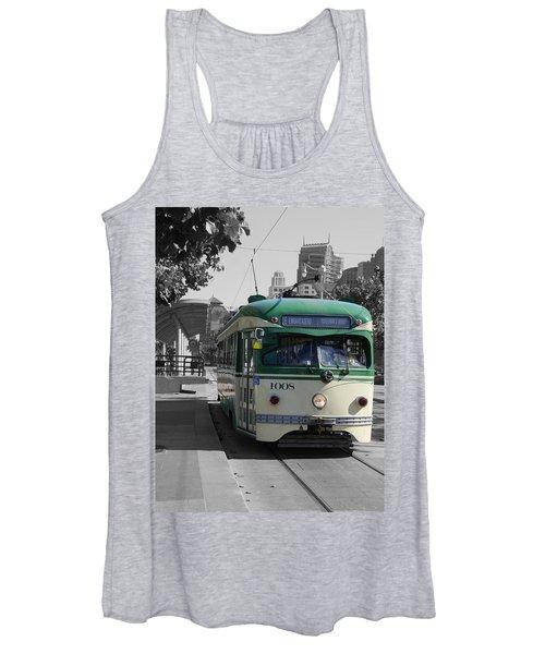 San Francisco - The E Line Car 1008 Women's Tank Top