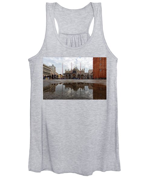 San Marco Cathedral Venice Italy Women's Tank Top