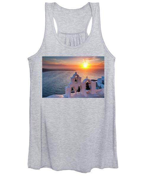 Santorini Sunset Women's Tank Top