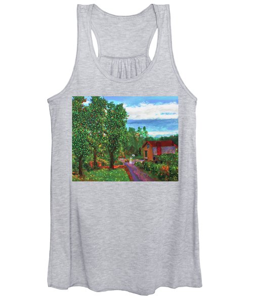 Scene From Giverny Women's Tank Top