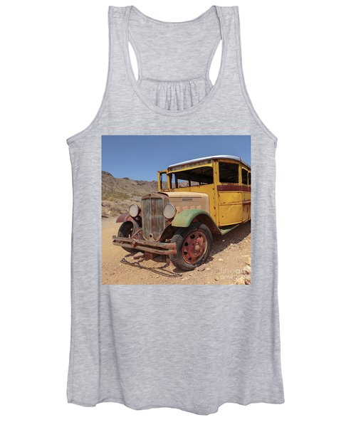 School Is Out For Summer Square Women's Tank Top