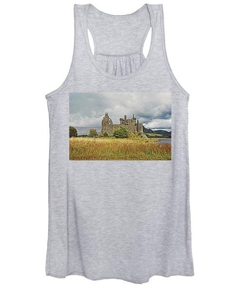 Scotland. Loch Awe. Kilchurn Castle. Women's Tank Top