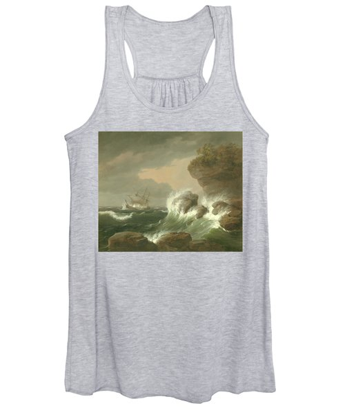 Seascape, 1835 Women's Tank Top