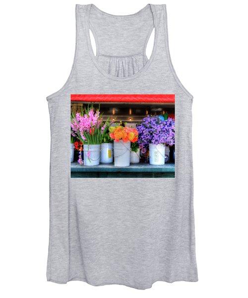Seattle Flower Market Women's Tank Top