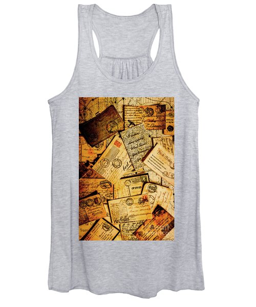 Sentimental Writings Women's Tank Top
