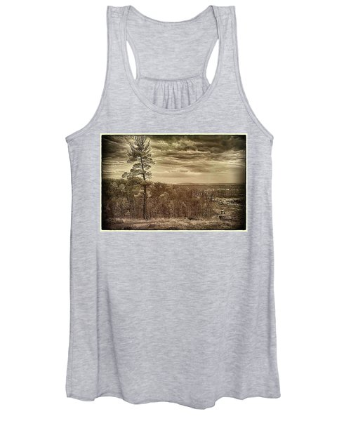 Sepia Sunset Women's Tank Top