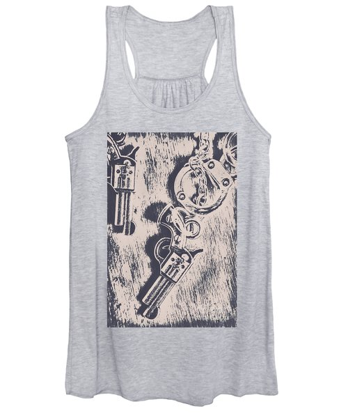 Shackled To The Law Women's Tank Top