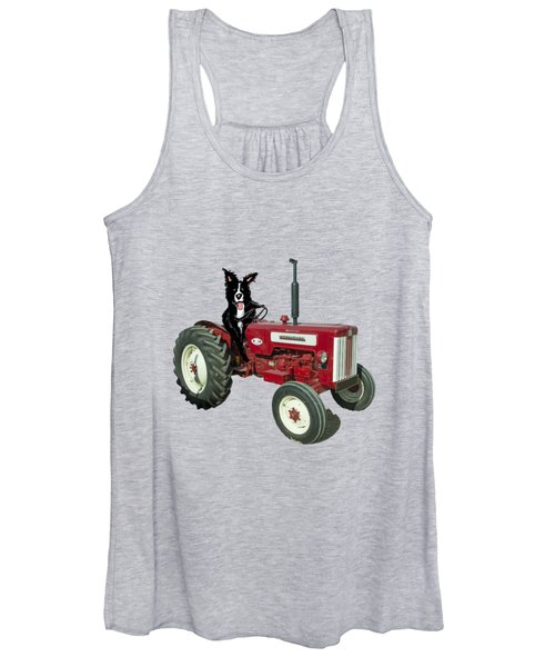 Sheepdog Tractor  Women's Tank Top