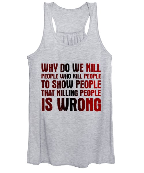 Showing People Women's Tank Top