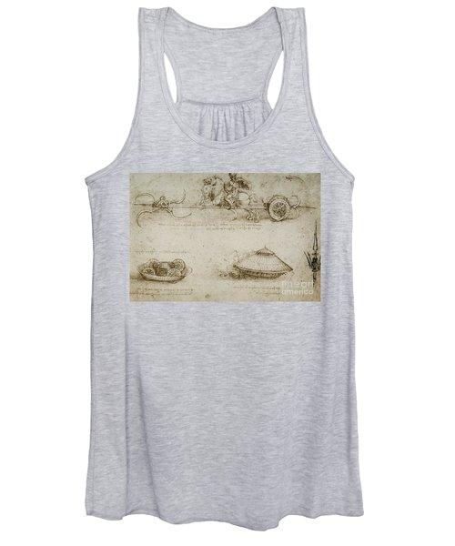 Sickle Tank Women's Tank Top