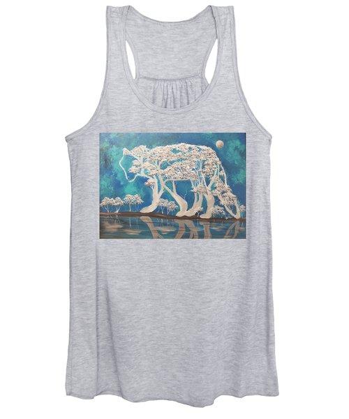 silver Wolf Women's Tank Top