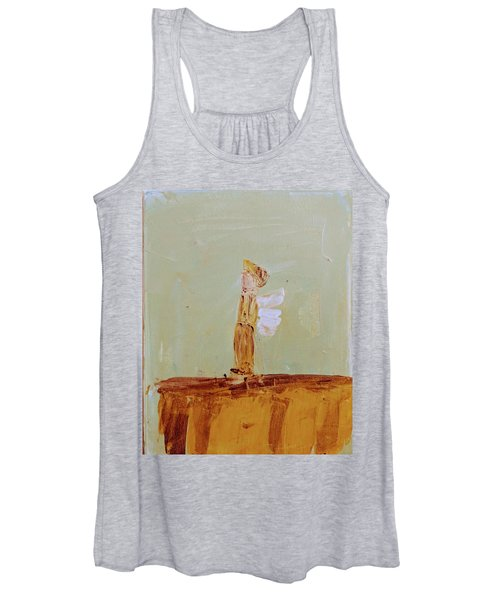 Simply Sweet Angel Boy Women's Tank Top
