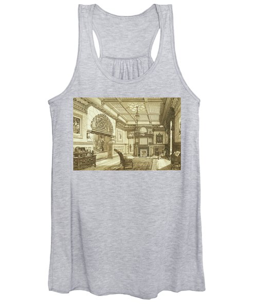 Sitting Room Of Bardwold, Merion Pa Women's Tank Top