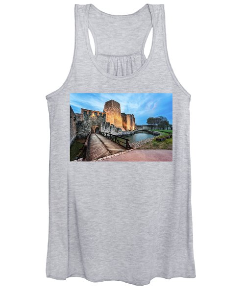 Smederevo Fortress Gate And Bridge Women's Tank Top