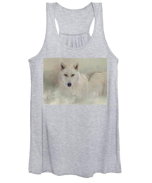 Snow Wolf Women's Tank Top