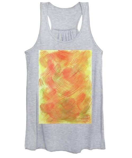 Soft Orange Colors 2 Women's Tank Top